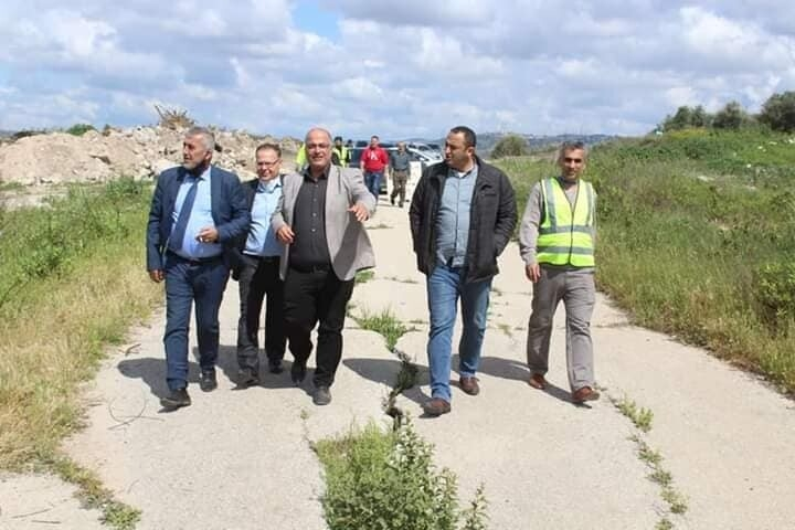 من مشاركة السيد بدر خندقجي رئيس بلدية علار