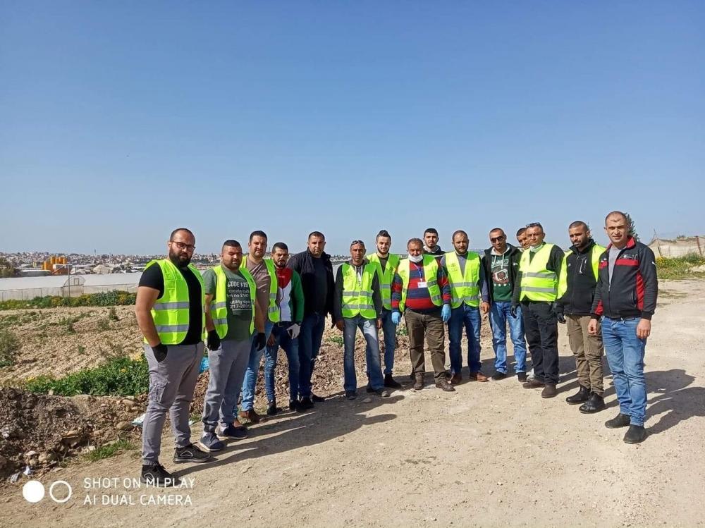 يوم امس قام الاخوة في حركة فتح منطقة علار التنظيمية