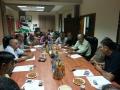 اجتماع مع البلديات المشاركة في ...