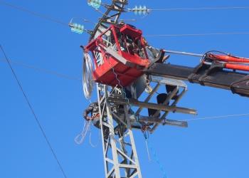تطوير شبكة الكهرباء